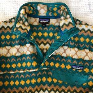 EUC Patagonia Synchilla Snap-T Fleece Pullover, S